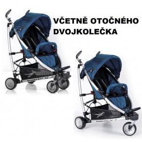 Modrý kočárek TFK Buggster S 2013
