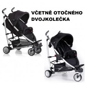 Černý kočárek TFK Buggster S 2013