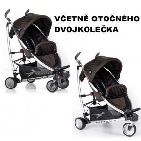 Hnědý kočárek TFK Buggster S 2013