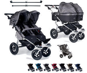 Kočárek TFK Twinner Twist Duo set s korbami Carrycot Twinner Twist Duo 2016