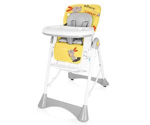 Jídelní židlička BABY DESIGN Pepe 2017, 01 - žlutá