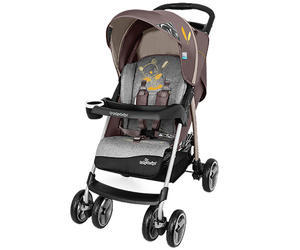 Kočárek BABY DESIGN Walker Lite 2018, 09-brown