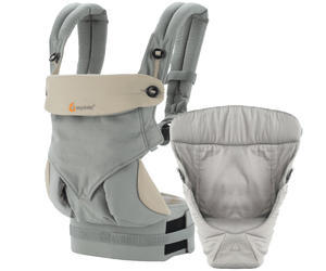 Set ERGOBABY 360 Four Position Bundle of Joy 2016, Grey