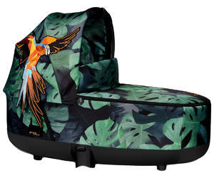 Hluboká korba CYBEX Priam Lux Carry Cot Fashion Birds of Paradise 2019