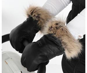 Rukavice na kočárek TAKO Igloo s kožichem 2019
