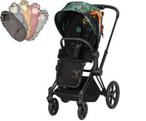 Kočárek CYBEX Priam Lux Seat Fashion Birds of Paradise 2019 + DÁREK