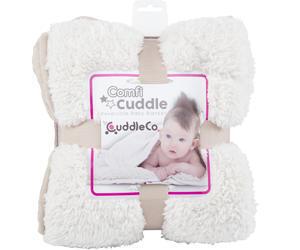Super měkká dětská deka CUDDLE oboustranná 110 x 75 cm 2017, mink