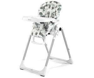 Jídelní židlička PEG PÉREGO Prima Pappa Zero 3 2017 + DÁREK, nuvola grey