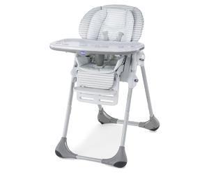 Jídelní židle CHICCO Polly 2v1 2016, polaris