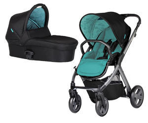 Kočárek X-LANDER set X-Pulse X-Pram Light 2017 + DÁRKY, Sea blue
