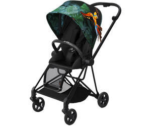 Kočárek CYBEX Mios Black Fashion Birds of Paradise 2018
