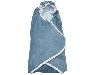 Zavinovačka LODGER Wrapper Newborn Scandinavian Flannel 2018, steel-grey