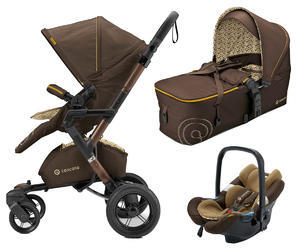 Kočárek CONCORD Neo Mobility set 2016, Walnut brown