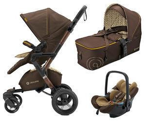 Kočárek CONCORD Neo Mobility set 2016, Walnut brown