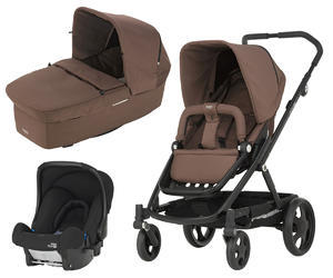 Kočárek BRITAX GO kompletní set 2017, wood brown