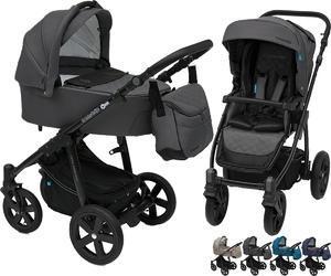 Kočárek BABY DESIGN Lupo Comfort Black 2018