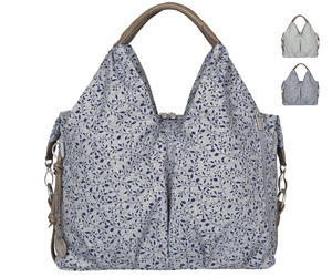 Taška na kočárek LÄSSIG Green Label Neckline Bag Allover Fleur 2017