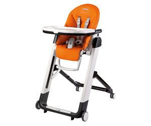 Jídelní židlička PEG PÉREGO Siesta 2018 + DÁREK, arancia