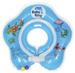 Kojenecký nafukovací kruh BABY RING 2018, modrý-střední