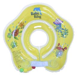 Kojenecký nafukovací kruh BABY RING 2015, žlutý-malý