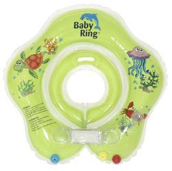 Kojenecký nafukovací kruh BABY RING 2015, zelený-malý