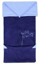 Fusak EMITEX Fanda 2v1 fleece s bavlnou 2016, tmavě - světle modrý