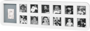 BABY ART Rámeček 1st Year Print Frame White/Grey 2018