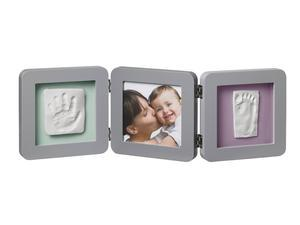 BABY ART Double Print Frame Grey 2018