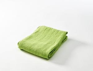 BABYDAN Háčkovaná deka new 2015, lime zelená