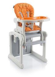 Jídelní židlička BABYPOINT Gracia 2018, oranžová