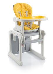 Jídelní židlička BABYPOINT Gracia 2018, žlutá