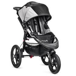 Kočárek BABY JOGGER Summit X3 2017, black/gray