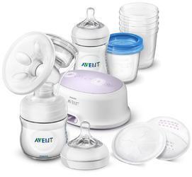 Odsávačka mateřského mléka Natural elektrická sada pro kojení Philips AVENT 2018