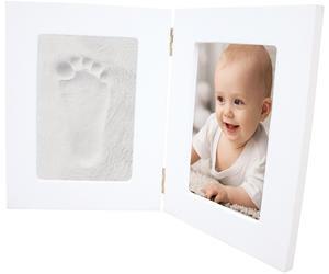 Sada pro otisky HAPPY HANDS Double frame White 2016