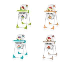 Jídelní židlička BABY DESIGN Cookie 2017