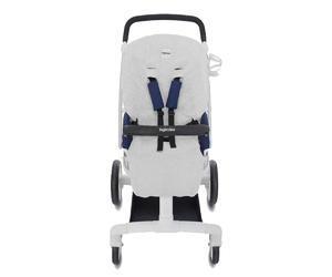 Letní froté vložka INGLESINA pro sportovní sedačku Quad světle šedá 2016