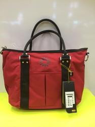 BRIO taška široká víkendová malá, červená