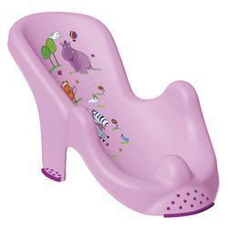 PRIMA BABY Lehátko do vany Hippo, světle fialová