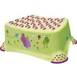 PRIMA BABY Stupínek k umyvadlu a WC Hippo, zelená