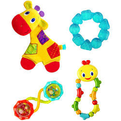 Dárková sada hraček Bright Starts  žirafa Gift Set, 3m+