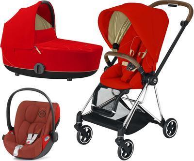 Kočárek CYBEX Set Mios Chrome Brown Seat Pack 2021 včetně Cloud Z i-Size PLUS - 1