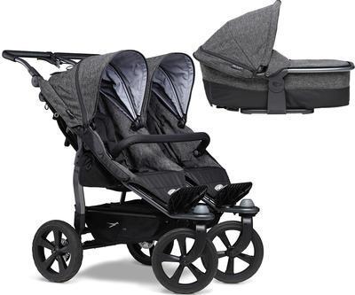 Kočárek TFK Duo Stroller Air Chamber Wheel Premium 2021 včetně Duo Combi Premium 1x - 1
