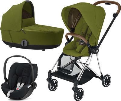 Kočárek CYBEX Set Mios Chrome Brown Seat Pack 2021 včetně Cloud Z i-Size - 1