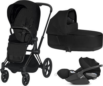 Kočárek CYBEX Set Priam Matt Black Seat Pack PLUS 2021 včetně Cloud Z i-Size PLUS - 1