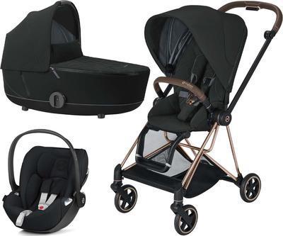Kočárek CYBEX Set Mios Rosegold Seat Pack 2021 včetně Cloud Z i-Size - 1