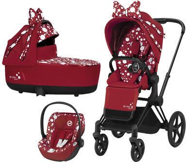Kočárek CYBEX by Jeremy Scott Set Priam SeatPack Petticoat Red 2021 včetně autosedačky - 1