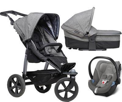 Kočárek TFK Mono Air Chamber Wheel Premium 2021 včetně korby a autosedačky - 1
