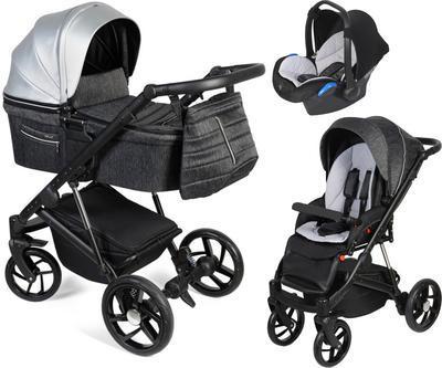 Kočárek DORJAN Quick Premium 2021 včetně autosedačky + DÁREK - 1