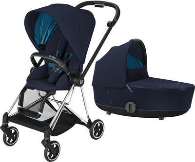 Kočárek CYBEX Mios Chrome Black Seat Pack 2021 včetně korby - 1