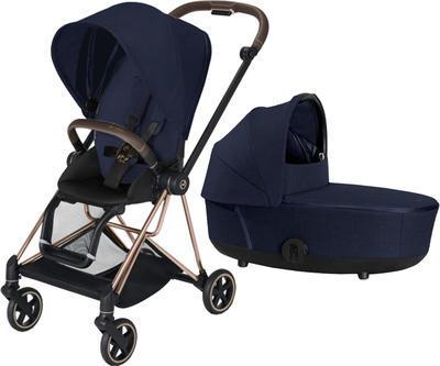 Kočárek CYBEX Mios Rosegold Seat Pack PLUS 2021 včetně korby, midnight blue - 1
